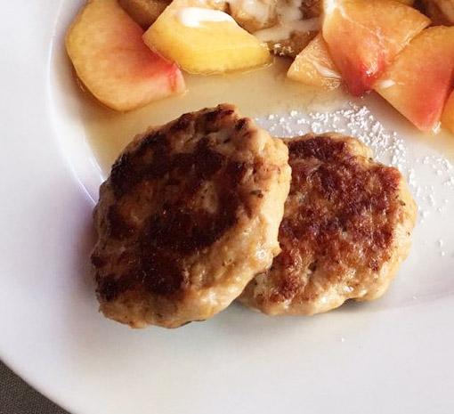 Apple Maple Chicken Sausage