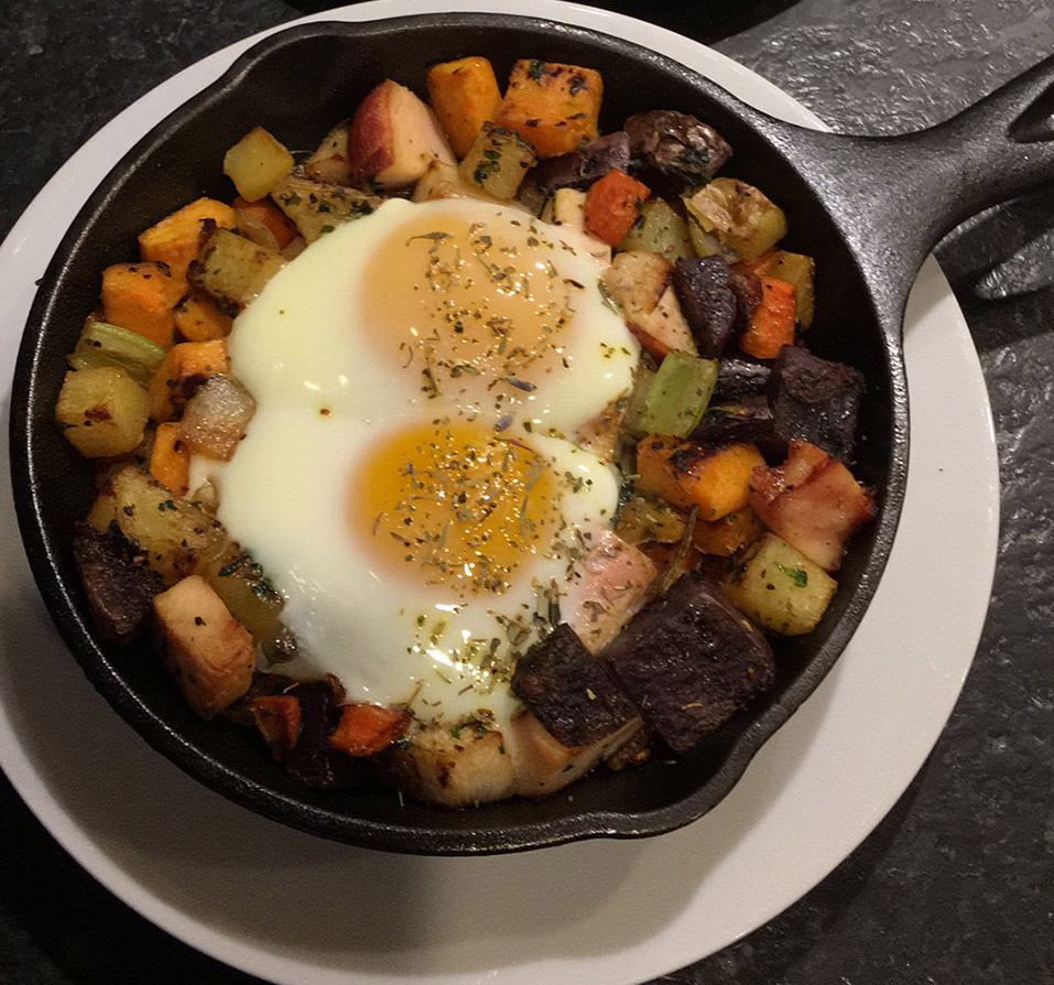 Root Vegetable Skillet Bake